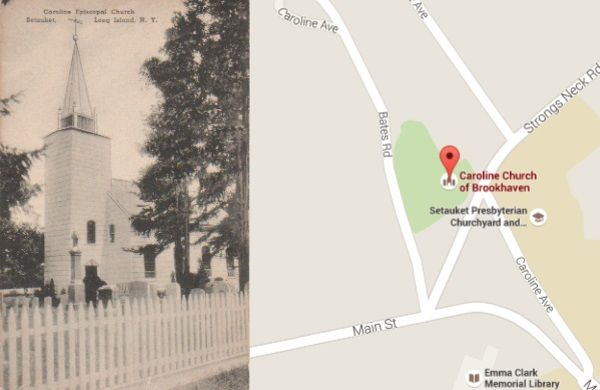 Location of Church
