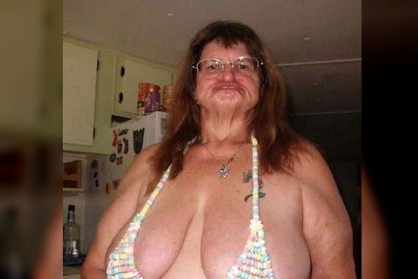 Old Lady Edible Bra