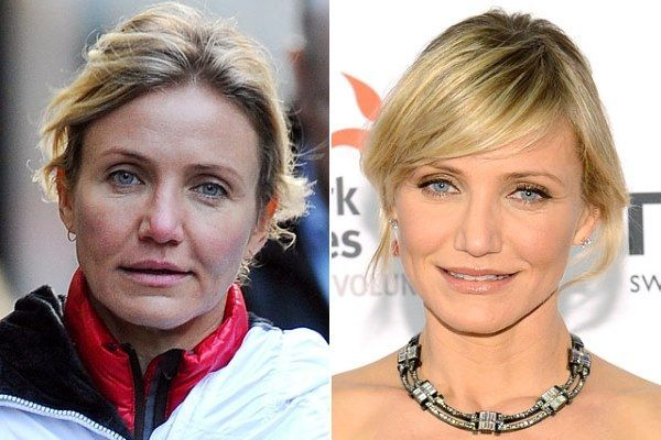 make-up transformation cameron-diaz